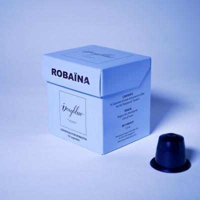 Ivoryblue Caffé - Pur Robusta - Edition Robaïna