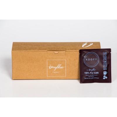 Ivoryblue Caffé - Koofy Robusta Individuel Box20